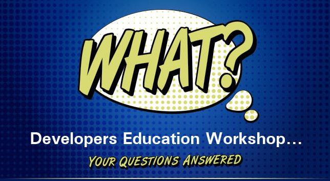 Developer Education Workshops