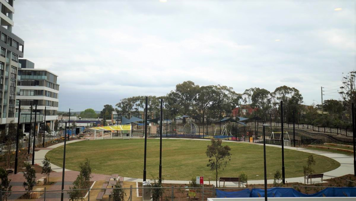 South Village Community Park, Kirrawee