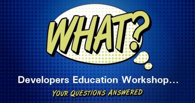 Developer Education Workshops