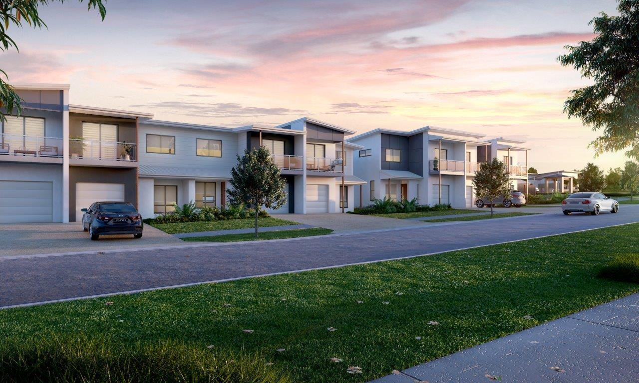 Kinross Townhomes, Thornlands. By Ausbuild