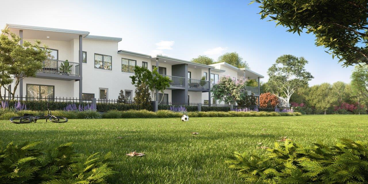 Lexington Townhomes, Albany Creek. By Ausbuild